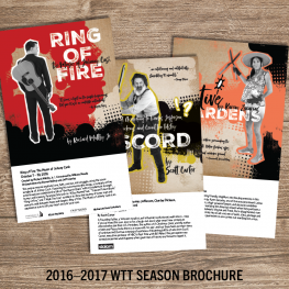 WaterTower Theatre 2016-2017 Season Campaign